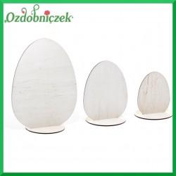 Jajka na podstawce 3 SZTUKI - sklejka ozdobna