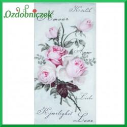 Serwetka do Decoupage różyczki vintage 1szt.