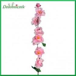 Jabłoń gałązka kwiatów różowych 60cm
