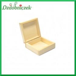 Pudełko drewniane 13x13x6