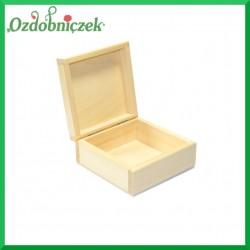 Pudełko drewniane 12x12x5cm