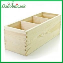 Pudełko z 3 przegrodami