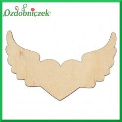 Serce i skrzydła 3szt