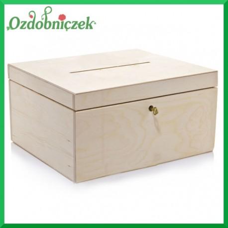 Pudełko małe na koperty ślubne