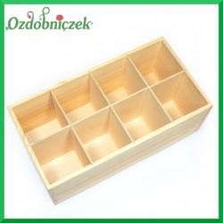 Pudełko z 8 przegrodami