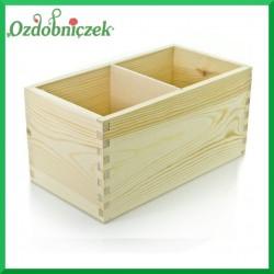 Pudełko z 2 przegrodami