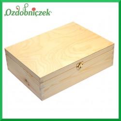 Pudełko prostokąt z zamknięciem