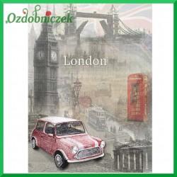 Papier ryżowy A4 -4 London i auto  R880