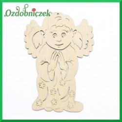 Aniołek dziewczynka ze złożonymi rączkami 15cm