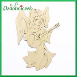 Aniołek z gitarą 15cm