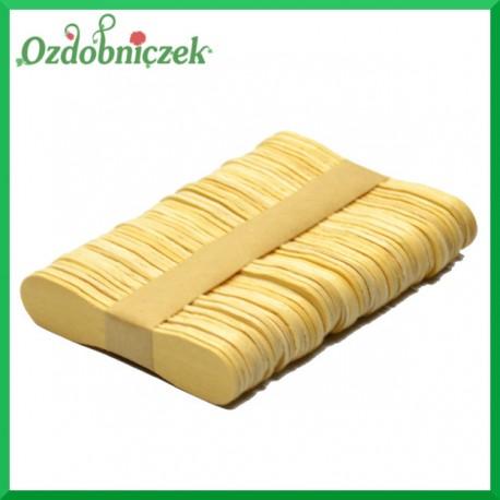 Drewniane patyczki MOTYLKI 50szt. 72x17x2mm