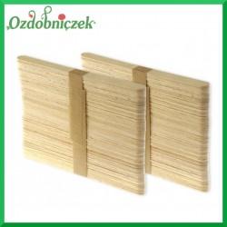 Drewniane patyczki do LODÓW 50szt. 135x10x2mm