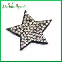 Gwiazdki filcowe z dżetami-24 szt