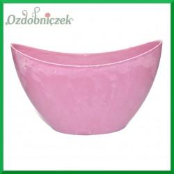 MISA duża - doniczka plastikowa różowa