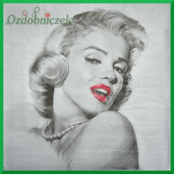 Serwetka do decoupage -Marylin Monroe