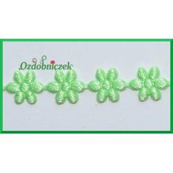 Aplikacje kwiatuszki malutkie jasno zielone