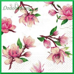 Serwetka do decoupage - magnolie