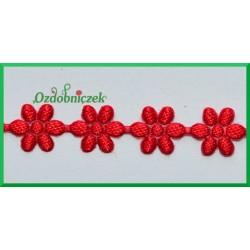 Aplikacje kwiatuszki malutkie czerwone