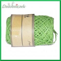 Sznurek papierowy zielony 2mm/10mb