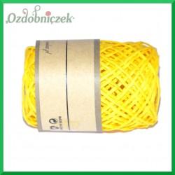 Sznurek papierowy żółty 2mm/10mb