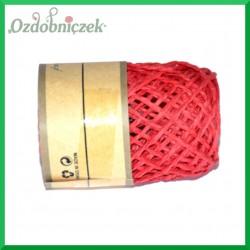 Sznurek papierowy czerwony 2mm/10mb