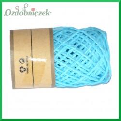 Sznurek papierowy niebieski 2mm/10mb