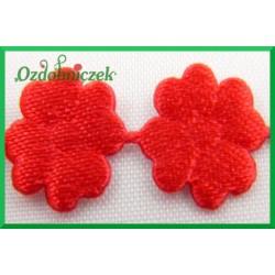 Aplikacje kwiatuszki mini czerwone