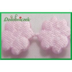 Aplikacje kwiatuszki mini różowy
