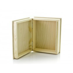 Drewniane pudełko KSIĄŻKA nr 1