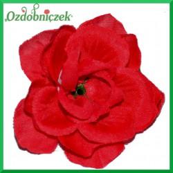 RÓŻA MINI - kwiatuszki ozdobne CZERWONE 12szt.