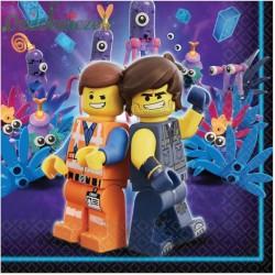 Serwetka do decoupage LEGO PRZYGODA 2