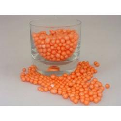 Granulat styropianowy ok. 8mm pomarańczowy gruby
