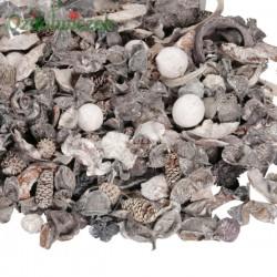 MIX POTPOURRI ozdobny susz pachnący NATURALNO-BIELONY 500g