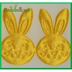 Aplikacje głowa króliczka żółta