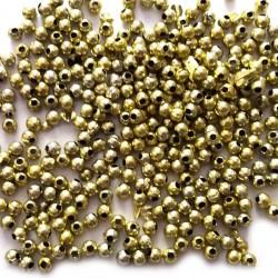 Perełki 4mm złote
