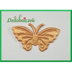 Aplikacje motylki złote 5szt