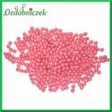 Perełki 6mm 7g  brudny róż