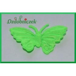 Aplikacje motylki jasno zielone 5szt