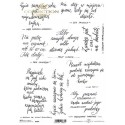 Papier ryżowy A4 R1607 cytaty