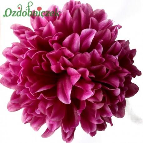 Chryzantema satynowa lilac - główka kwiatowa 14cm