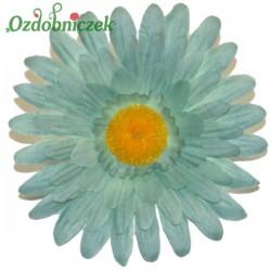 Gerbera satynowa niebieska - główka kwiatowa 12cm