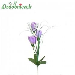 Krokus z trawa 3 kwiaty - LILIOWY