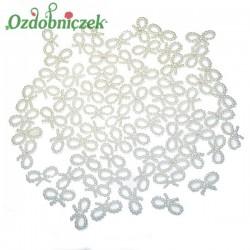 Koraliki perłowe plastikowe KOKARDKI 19mm/100szt.