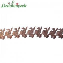Aplikacje króliczki z jajeczkiem CZEKOLADOWY 0,5mb