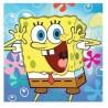 Serwetka do decoupage Spongebob kanciastoporty