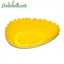 Doniczka jajko ŻÓŁTA skorupka 20 cm