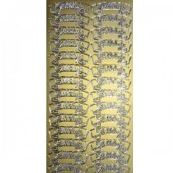 Stickersy złote -ALLELUJA- WN