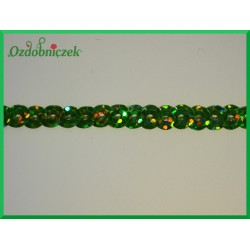 Taśma cekinowa laserowa Jasny zielony