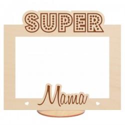 Ramka na zdjęcie SUPER MAMA