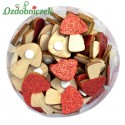 Czerwone grzybki muchomorki  na przylepcu 48szt